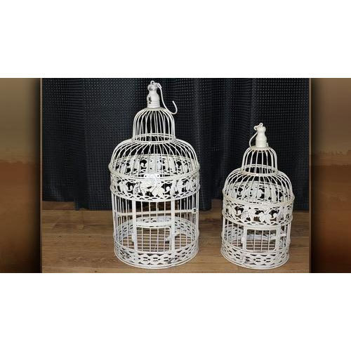 White Or Optional Wedding Bird Cage Packaging Type Box Rs 595