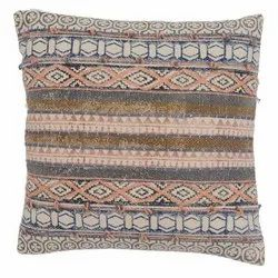 Cotton Handwoven Embroidery Cushion Cover