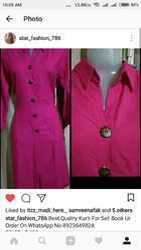 Ladies Pink Suit