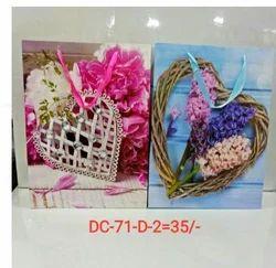 Heart Printed Gift Bag