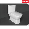 Ceramic Floor Mounted Somany Mexico - P Trap One Piece Toilets