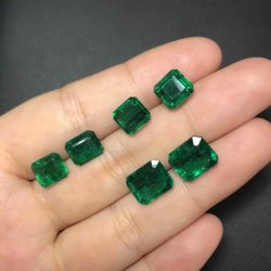 Emerald Octagon Stone