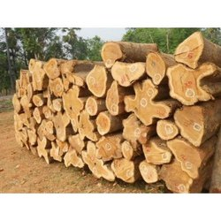 Silver Wood Round Logs