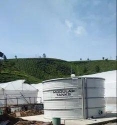 Water Tanks Of Effluents Pre Treated Effluent