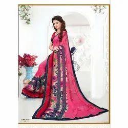 0d1860e7c Krishna Creation Fancy Weightless Saree