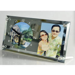 Sublimation Glass Clock Frame