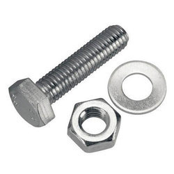 Stainless Steel Fasteners, Packaging Type: Plastic Packet