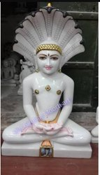 Marble Mahaveer Swami Ji Statue
