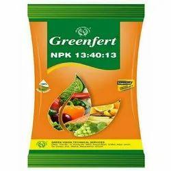 Greenfert NPK 13:40:13 Water Soluble Fertilizer, Packaging Type: Packet, Packaging Size: 1 Kg