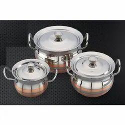 Ajanta Copper Cookware Set