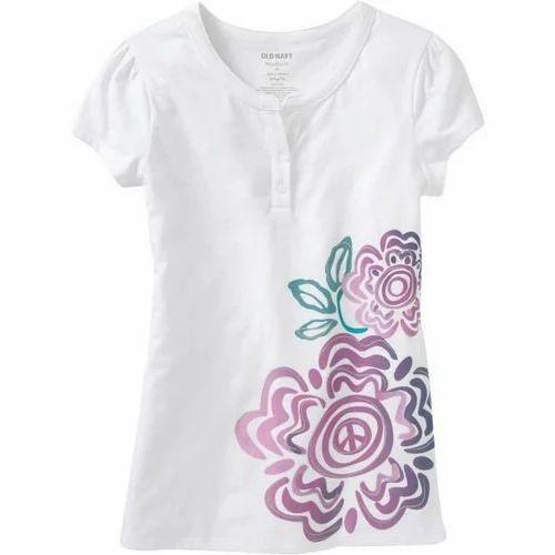 Printed Las Designer T Shirt Rs 299
