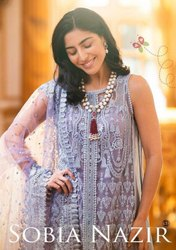 Blooming Pakistani Suit Shraddha Sobia Nazir
