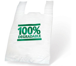 Compostable Biodegradable Bio-Plastic Carry Bags