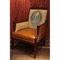 Vintage Arm Leather Chair