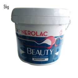 Matt Liquid Nerolac Beauty Acrylic Distemper Paint, Packaging Type: Bucket for Wall