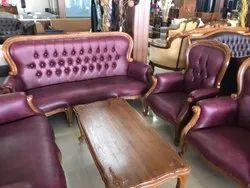 Imported Wood Nilkamal Sofa Set
