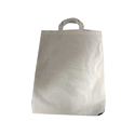 Off White Pure Cotton Cloth Carry Bag