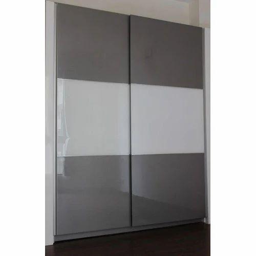 White And Grey Fancy Wardrobe