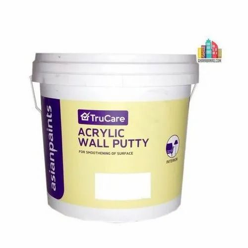 Asian Paint Wall Coating Trucare Acrylic Wall Putty Rs 75 Kilogram Id 21022690955