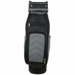 Plain Black Golf Kit Bag