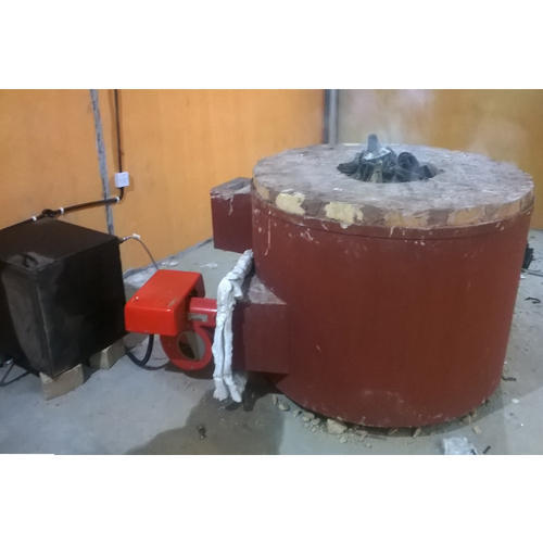 200kw Aluminium Melting Furnace - Diesel Fired