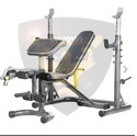 Gamma Fitness Olympic Utility Bench