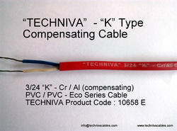 K Type PVC Compensating Cable