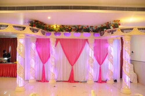 Stage Decoration Marriage Hall Decoration Manufacturer From Madurai