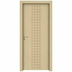 Gray Hinged Moulded WPC Door, Size/Dimension: 7x3 30mm, Thickness: 30mm