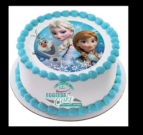 Strange Frozen Birthday Cake At Rs 1349 Piece Noida Noida Id 19870236130 Birthday Cards Printable Opercafe Filternl