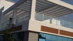 Stainless Steel SS Glass Railing