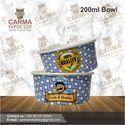 200 Ml Ice Cream Paper Bowl