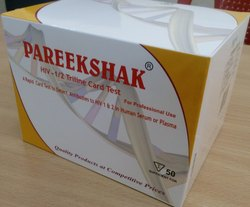 PAREEKSHAK HIV 1/2 Triline Card Test, 50 T
