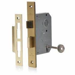 Brass And Stainless Steel Door Lock