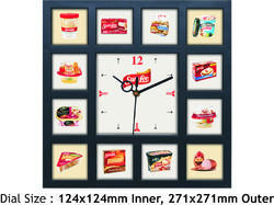 Promotional Multi Images Wall Clock