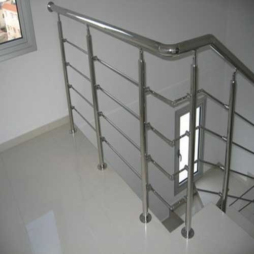 Iron Panel SS Decorative Handrail