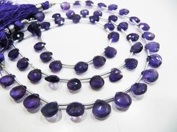 Quality Natural African Amethyst Heart Shape Beads