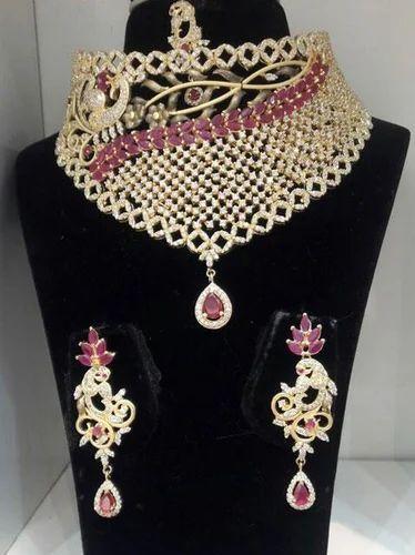 Cz Wedding Sets.Czn911 Cz Bridal Necklace Set