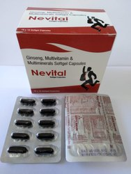 Genseng Multivitamin and Mineral Softgel Capsules