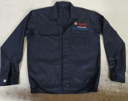 Full Sleeves Polyester Industrial Jacket
