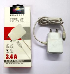 Travel Prolife Mobile Fast Charger USB Cum Wired 3.4 Amp