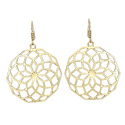 Full Round Pores Amazing Stylish Brass Party Wear Casual Everyday Jewelry Earrings