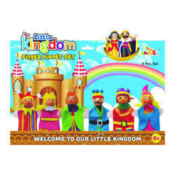 Little Kingdom Wooden Finger Puppet Set
