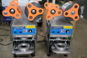80 / 90mm Dia Disposable Cup Sealing Machine