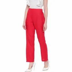 PANTS FOR KURTIS HCP5 RED RAYON