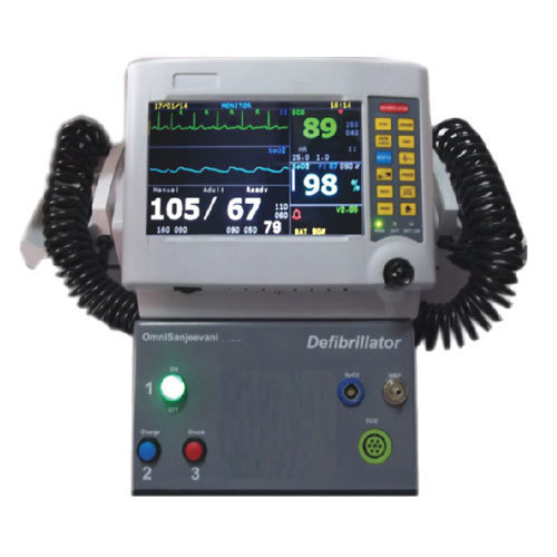 Defibrillator Machine With Ecg