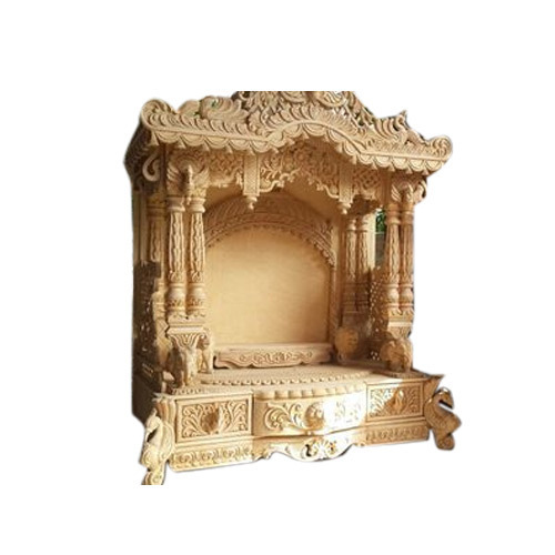 Modern Wooden Home Temple At Rs 95000 Piece Lakdi Ke