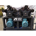 Anest Iwata Twin Block Base Mounted Air Compressor