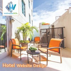 Hotel Website Designing Service With Chat Support