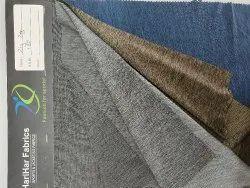 Black Polyester Zig Zag T Shirt Fabric